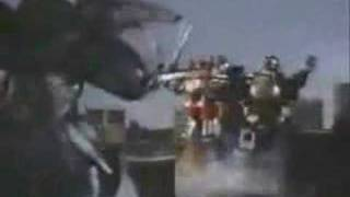 Mighty Morphin Power Ranger Old-school Megazord Battle Cyclopsis