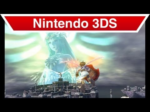 Nintendo 3DS - Kid Icarus: Uprising Palutena's Temple Trailer