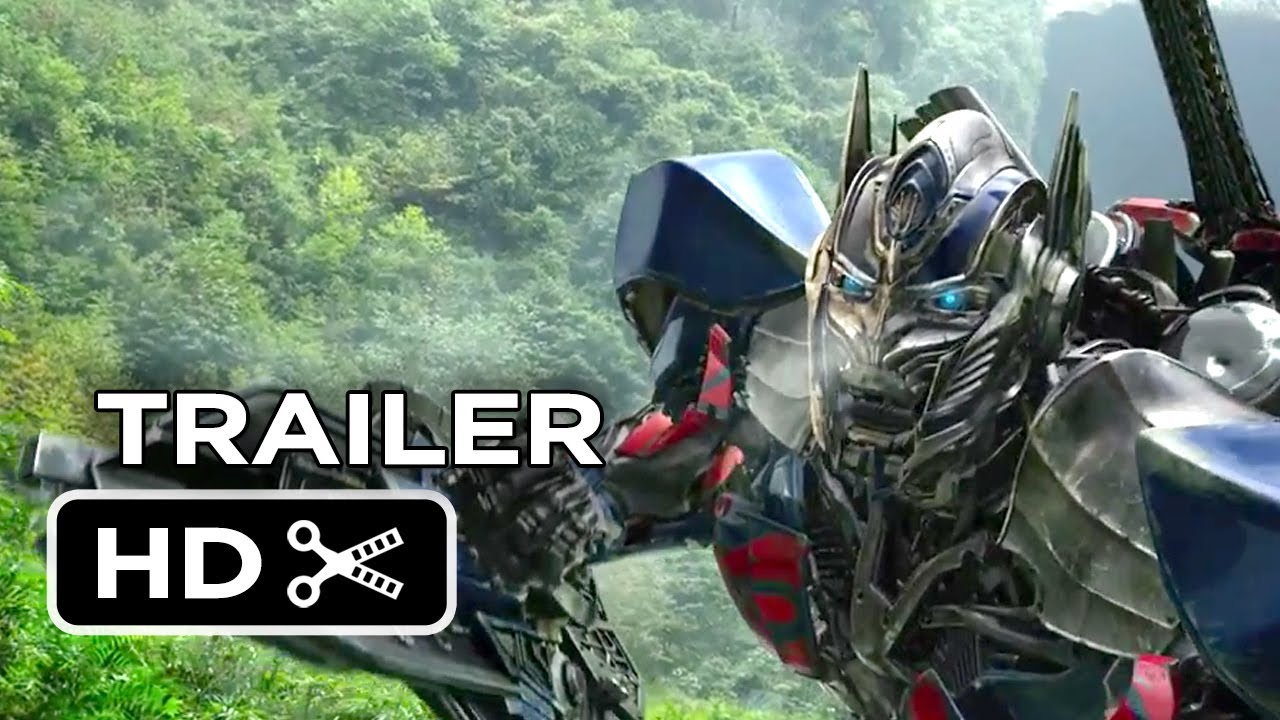 Transformers: Age of Extinction TRAILER 1 (2014) - Mark Wahlberg Movie HD