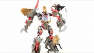 Video Review Of The Transformers: Power Core Combiner