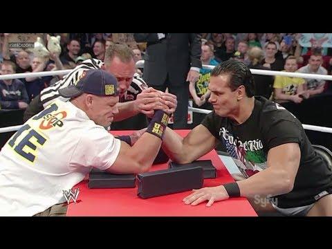 WWE Smackdown 11/15/13 John Cena ARM WRESTLES Alberto Del Rio Live Commentary