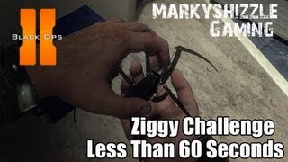 CoD Black Ops 2 Karma Ziggy Challenge Less Than 60