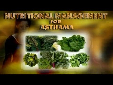 Nutritional Management for Asthma - Diet, Better Health - English