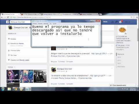 Como eliminar el Virus del Facebook Agosto 2014