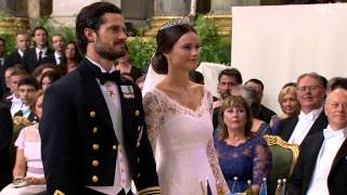 Prince Carl Philip of Sweden & Sofia (Wedding ceremony) (June 2015)