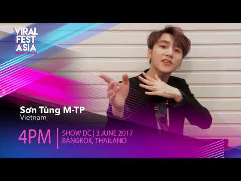 Viral Fest Asia 2017 Shoutout - Sơn Tùng M-TP | Country Headliner