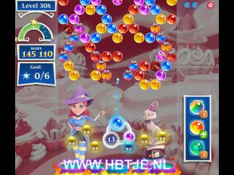 Bubble Witch Saga 2 level 308