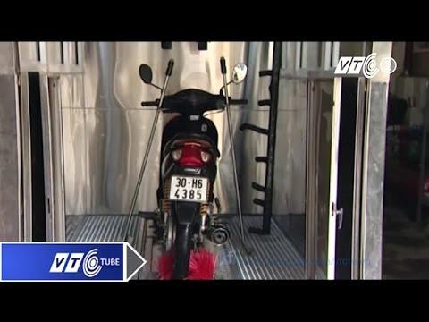 Rửa xe máy sạch bong chỉ trong 3 phút | VTC