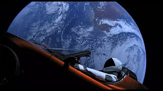 "SpaceX's ""Starman"" live stream sped up 64 times"