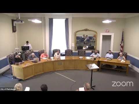 Plattsburgh Common Council Meeting  7-15-21