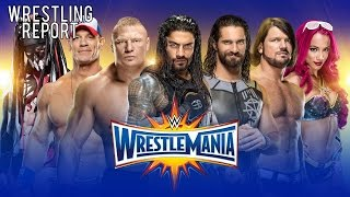 Full WrestleMania 33 Card Revealed? WWE UK Show Update | Wrestling Report