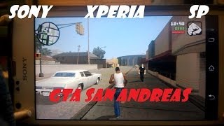Sony Xperia SP Grand Theft Auto San Andreas Dualshock 3