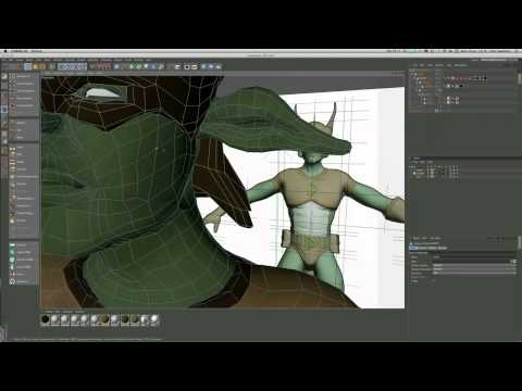 Model a heroic character in Cinema 4D (Part 6)