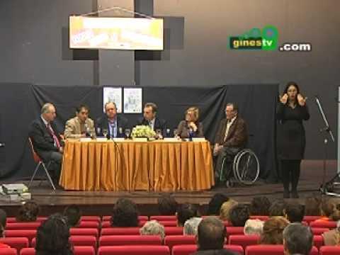 """El Consejero de Empleo, en las Jornadas """"Integrando la Discapacidad en Gines"""""""
