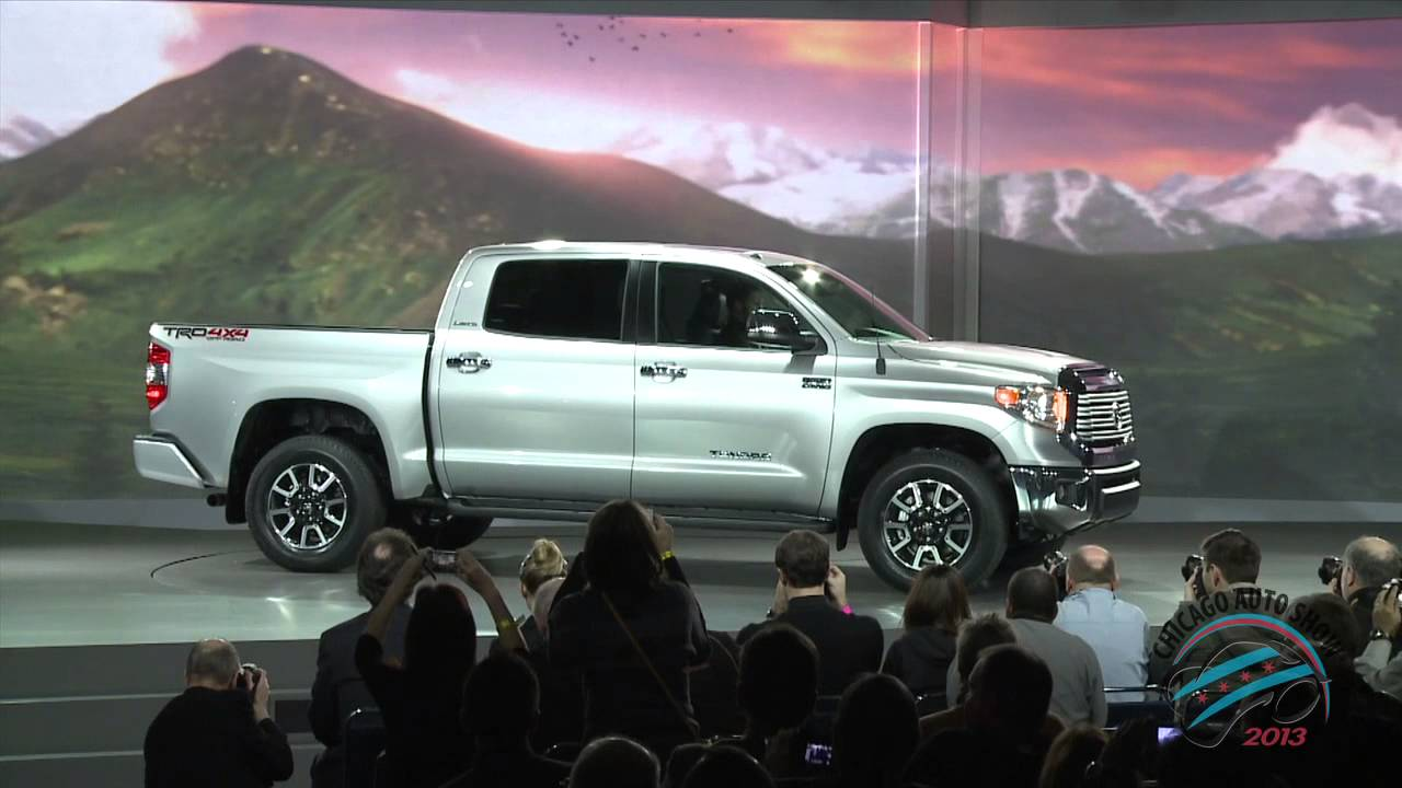 toyota unveils 2014 redesigned tundra full size pickup truck at html autos weblog. Black Bedroom Furniture Sets. Home Design Ideas