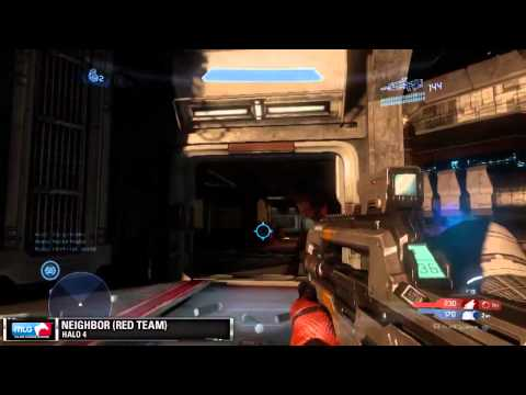 Halo 4 Full Gameplay Match on Adrift - Infinity Slayer