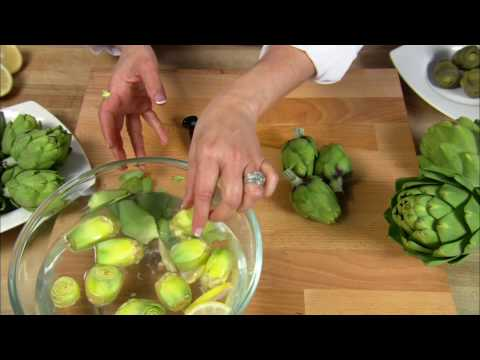 How To Prepare Baby Artichokes from Ocean Mist Farms