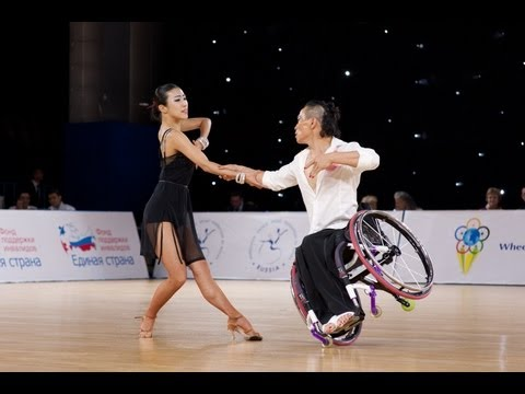 Combi Latin Class 2 final - 2013 IPC Wheelchair Dance Sport Continents Cup