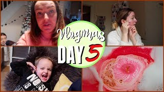 MUM TAKES OVER MY VLOG?! VLOGMAS DAY 5!