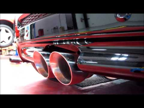 Quicksilver Cat Back Performance Exhaust System Mini Convertible R57 Cooper S