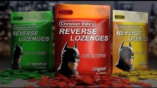 Christian Bale's Ultra Deep Voice Lozenges