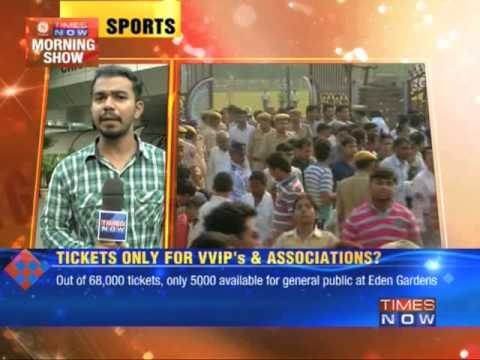 No tickets for Sachin Tendulkar's farewell Tests?