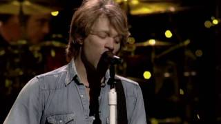 Bon Jovi - Radio Saved My Life (Live)
