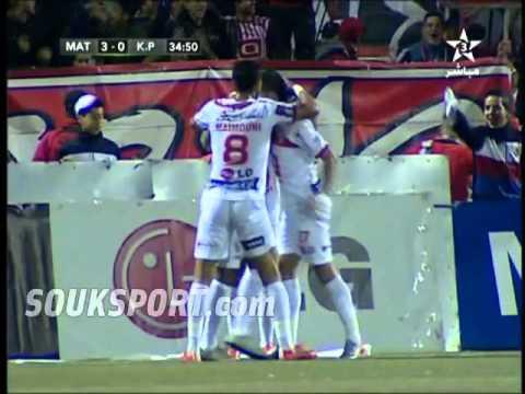 شاهد أهداف مباراة : المغرب التطواني 4 – 0 كانو بيلارس (هاتريك لياجور)