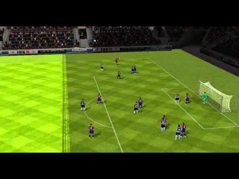 Gigi Buffon goal Juventus VS Cagliari  FIFA 14