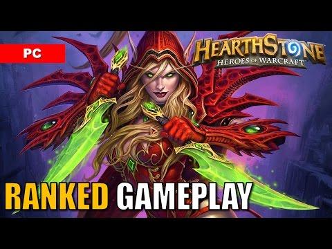 HEARTHSTONE Gameplay Ranked Standard Deck: Rogue vs Priest
