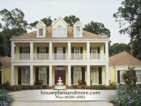 French Creole Acadian Homes Video House Plans And More