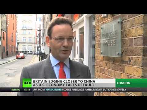 Martin Graham Speaks to Russia Today on the UK Chancellor's Visit to China