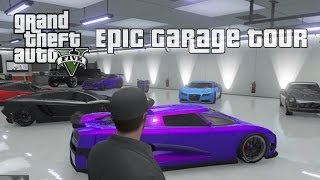 GTA 5 Online Epic Garage Tour Adder, Entity, Cheetah