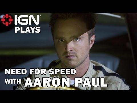 How Good is Aaron Paul at Need for Speed? - Let's Play