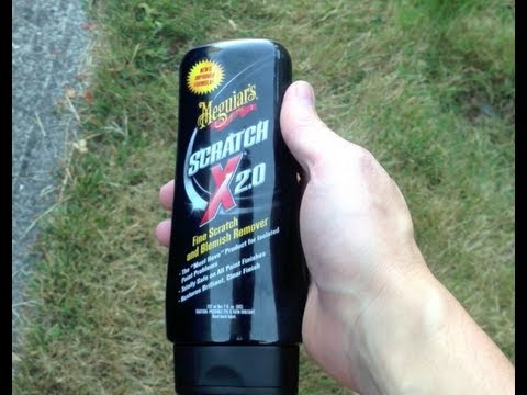 how to remove scratches from your car meguiar 39 s scratch x 2 0 does. Black Bedroom Furniture Sets. Home Design Ideas