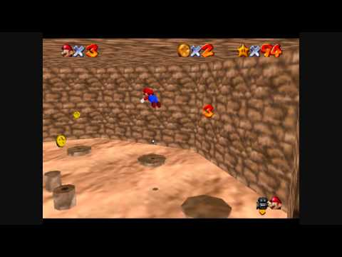 SM64 Star Road - Sinky Spiral Cave 24