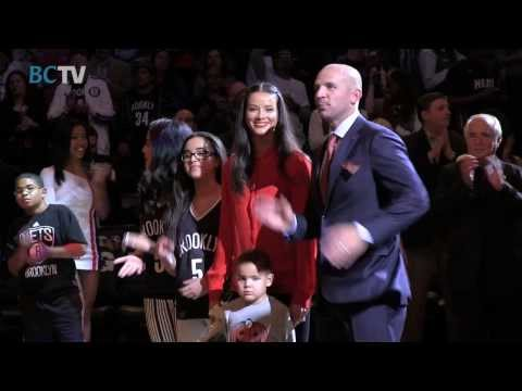 Brooklyn Nets Retire Jason Kidd's Jersey