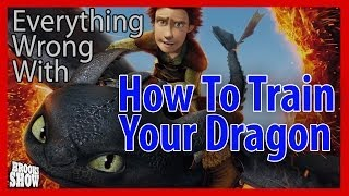 Everything Wrong With How To Train Your Dragon In 5
