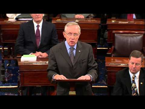 Reid Calls for Filibuster Reform to End Gridlock