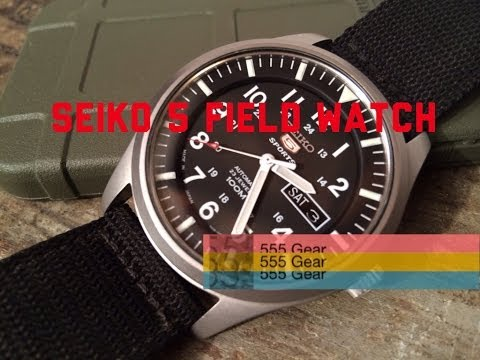 Review: Seiko 5 Field Watch SNZG15J1 Military Automatic Wristwatch