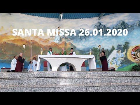 Santa Missa | 26.01.2020 | Padre José Sometti | ANSPAZ