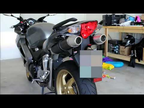 Honda VFR 800 Leovince Exhaust sound