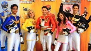 Nick's Power Rangers Megaforce Cast Interview