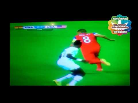 GOL Clint Dempsey EE UU 1 USA VS 0 Ghana The fastest goal in world brazil 2014 HD 16/06/2014