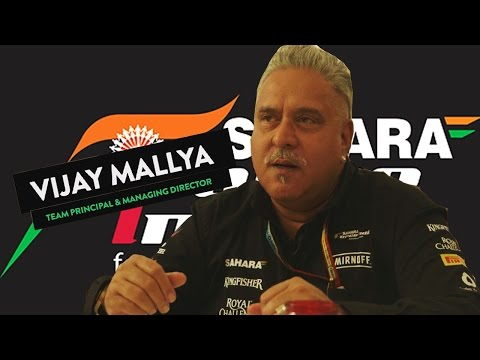 Silverstone GP - Force India - Vijay Mallya 2014
