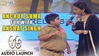 Dancer Akshat Singh and Suma funny conversation