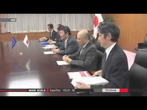 Japan, EU agree to advance free trade talks