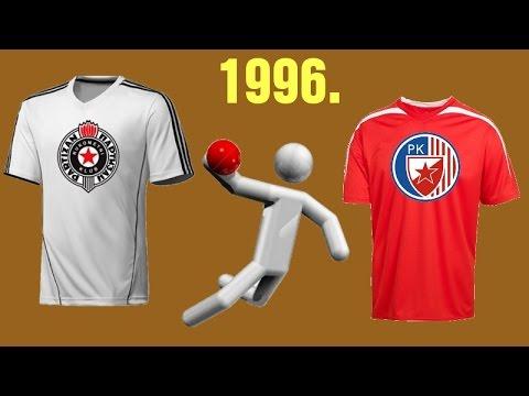 RK Partizan – RK Crvena Zvezda (1996. godina)