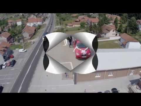 Svečana sala Srbija Snimak dronom