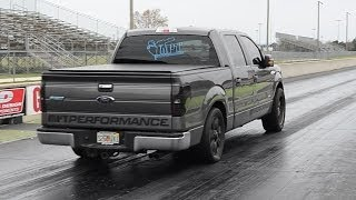 Fastest F150 Ecoboost Quarter Mile 1/4 Built And Tuned By